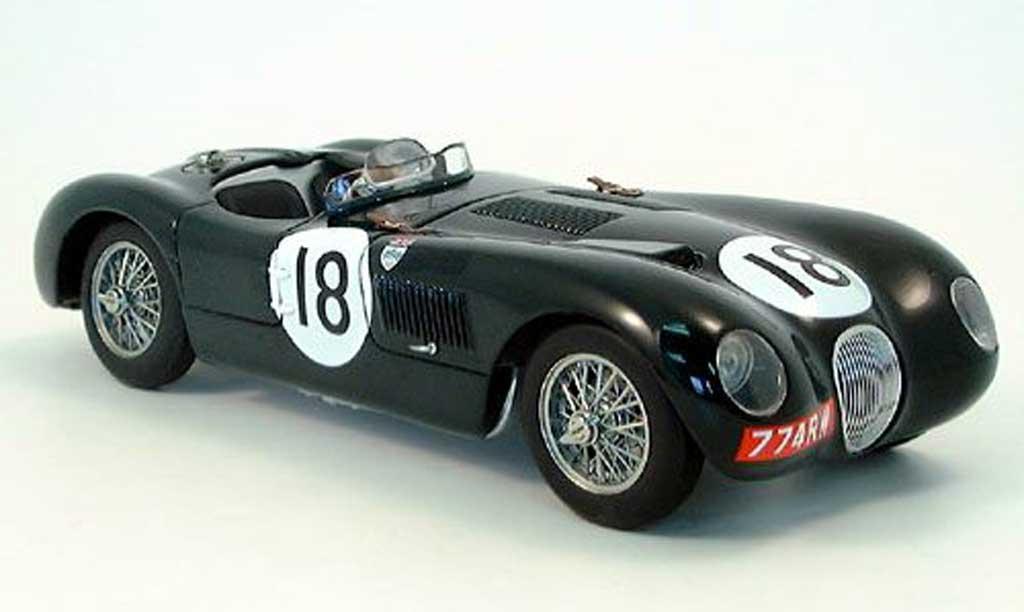 Jaguar C-Type 1/18 Autoart 24h le mans 1953 miniature
