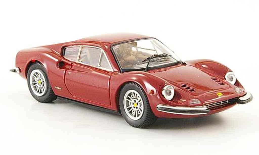 Ferrari 246 1/43 Bang dino 246 gt  rosso miniatura