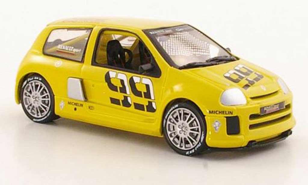 Renault Clio V6 1/43 Eagle II No.99 Prasentationsfahrzeug miniature