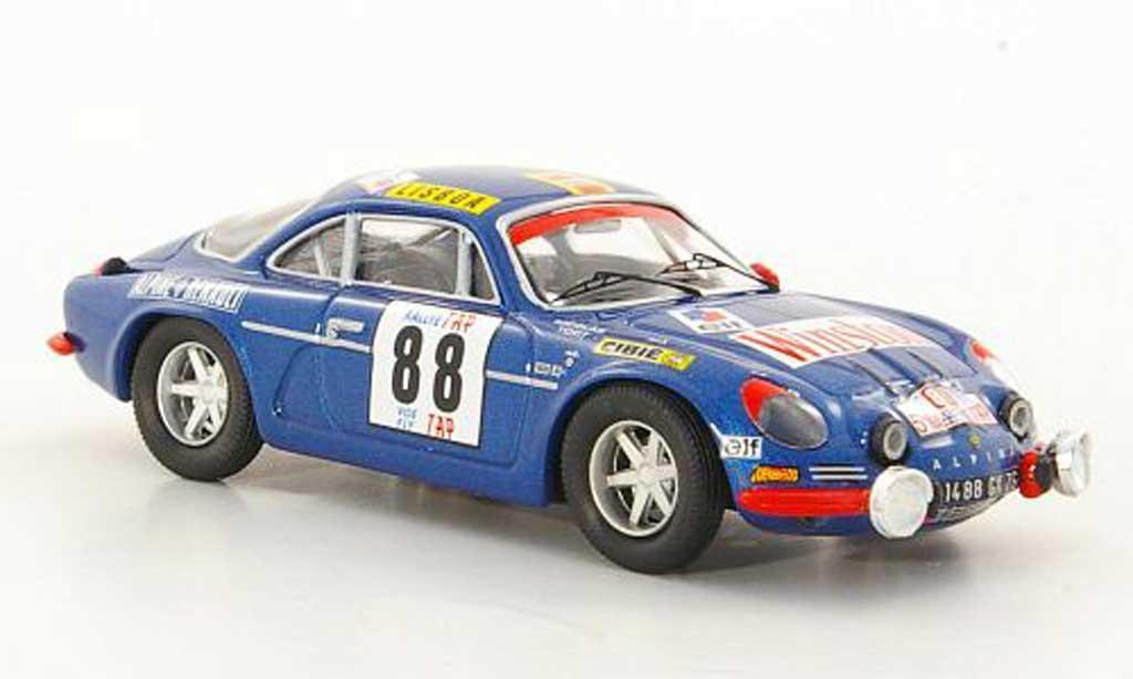 Alpine A110 1/43 Trofeu 1600 S No.88 J.P.Nicolas / J.Todt TAP Rally 1971 diecast model cars