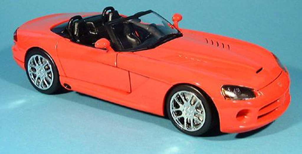 Dodge Viper SRT 10 1/18 Hot Wheels SRT 10 rouge 2003 miniature
