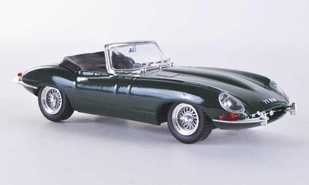 Jaguar E-Type 1/43 Best E Spyder grun miniature