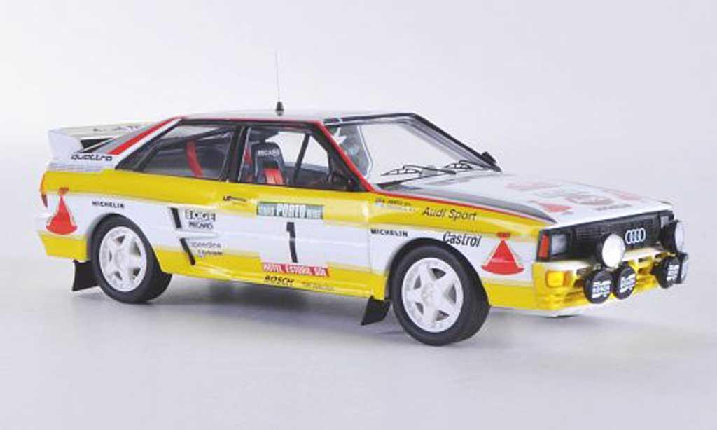 Audi Quattro 1/43 Trofeu No.1Team HB H.Mikkola / A.Hertz Rallye de Portugal 1984 miniature