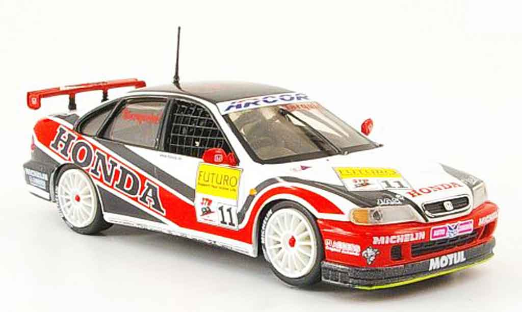 Honda Accord 1/43 Onyx STW Gabriele Tarquini Nr.11 1998 miniature