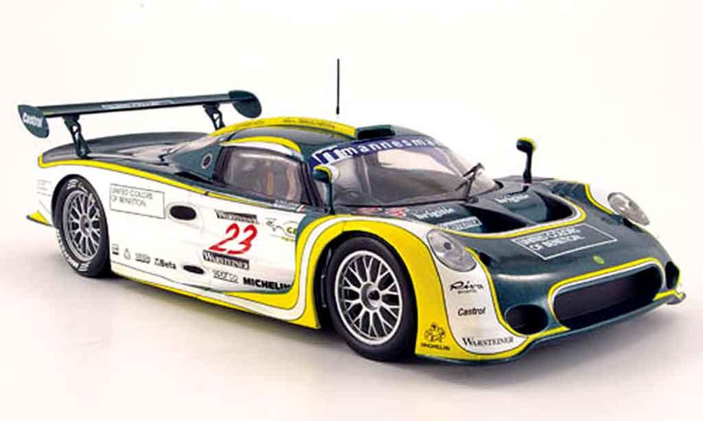 Lotus Elise GT1 1/18 Sun Star benetton helsinki gp nr. 23 1999 diecast