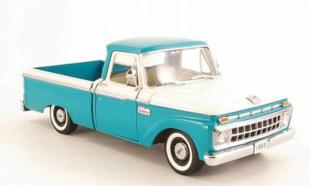 Ford F 100 1/18 Sun Star verte/blanche 1965 miniature
