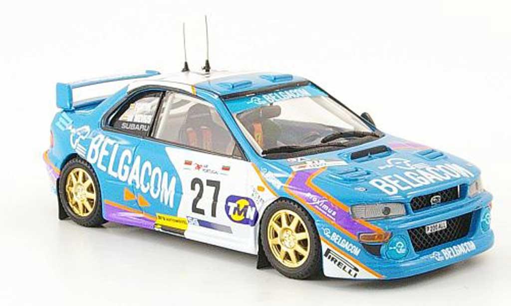 Subaru Impreza WRC 1/43 Trofeu Portugal Mevius-Fontin 1998 miniature