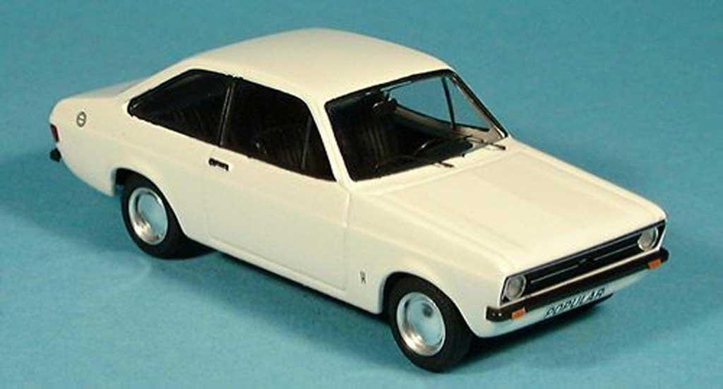 Ford Escort MK2 1/43 Trofeu 1100 blanche miniature