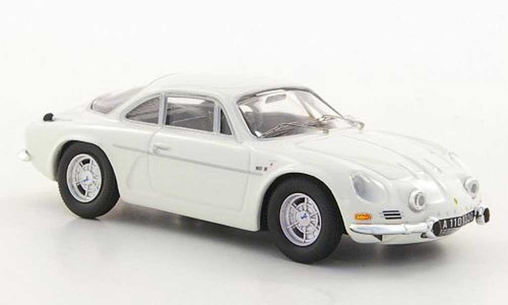 Alpine A110 1/43 Trofeu 1300 G white diecast model cars