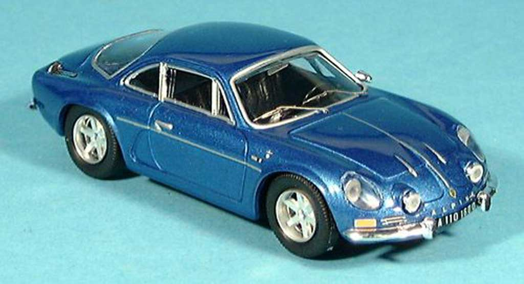 Alpine A110 1/43 Trofeu blue 1975 diecast model cars