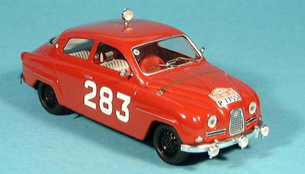 Saab 96 1/43 Trofeu Sieger Monte Carlo Carlsson-Palm 1963 miniature