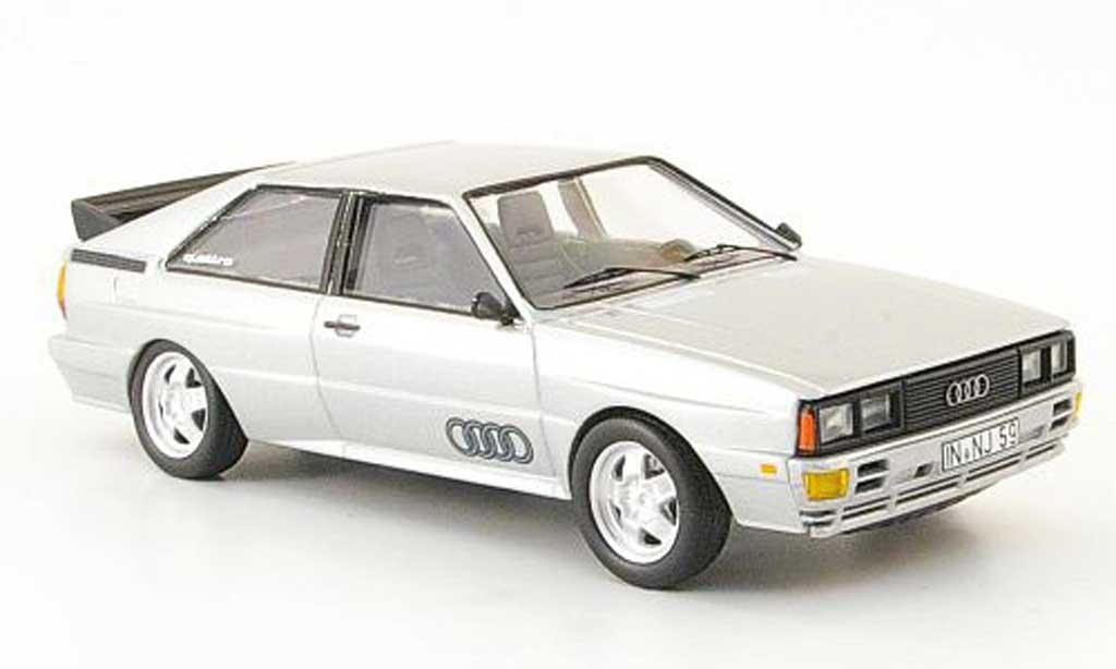 Audi Quattro 1/43 Trofeu grise miniature