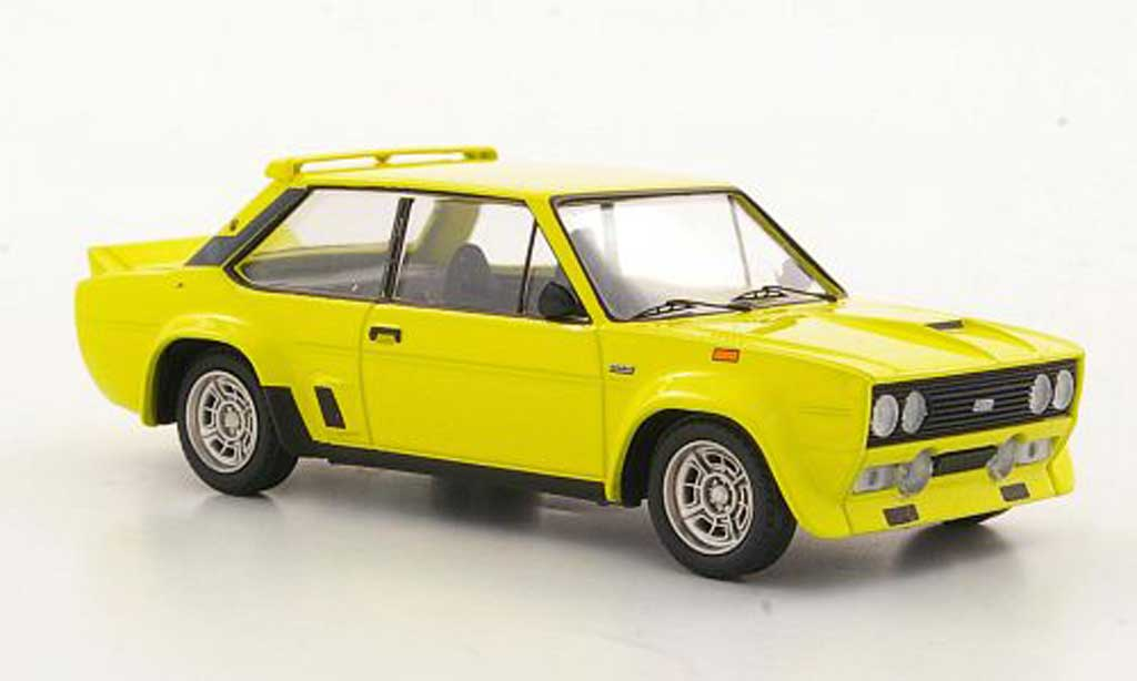 Fiat 131 Abarth 1/43 Trofeu yellow diecast
