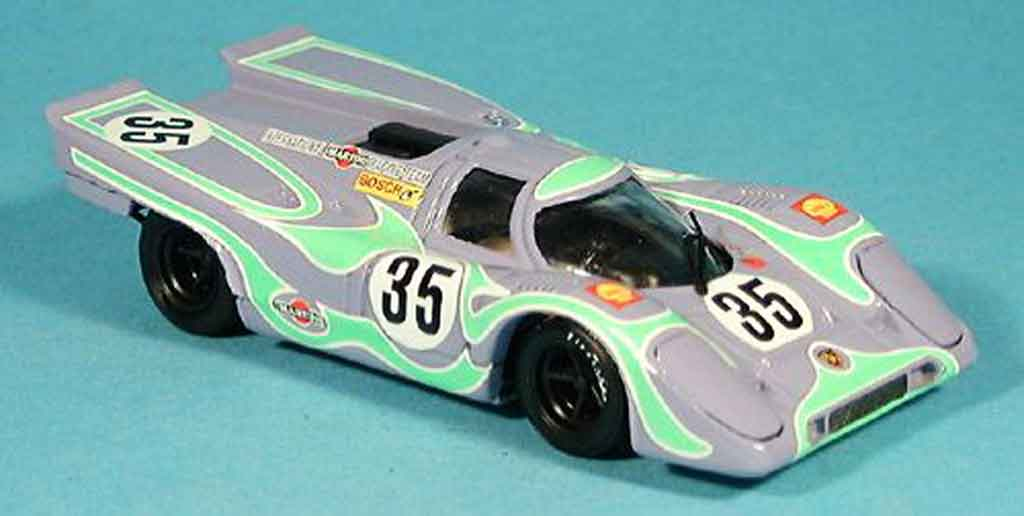 Porsche 917 1970 1/43 Brumm No.35 Larousse Lennep 6h Watkins Glen miniature