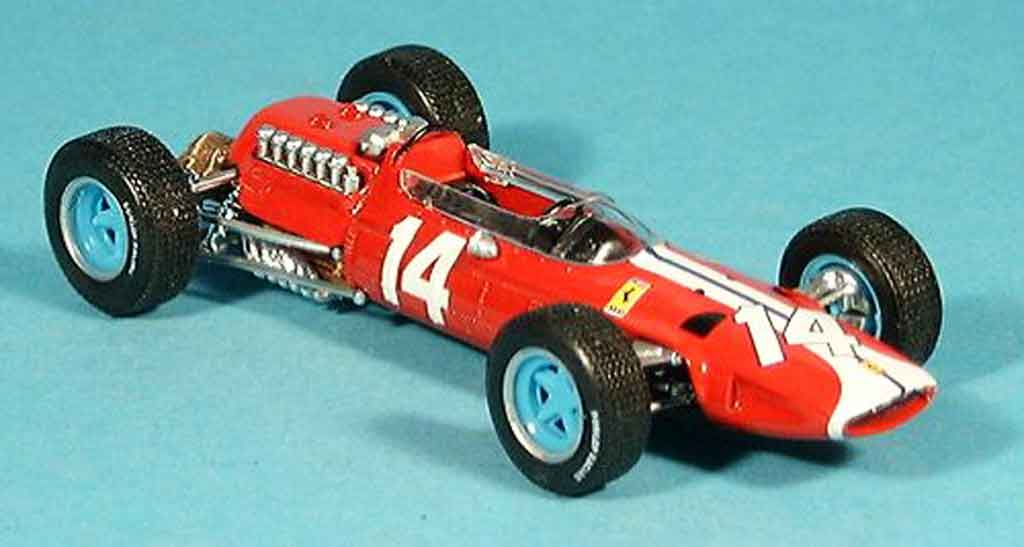 Ferrari 512 BB 1/43 Brumm no.14 pedro rodriguez gp usa 1965 diecast model cars