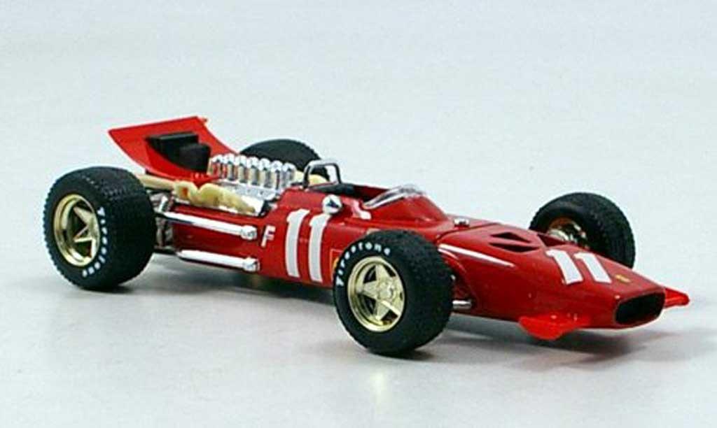 Ferrari 312 F1 1/43 Brumm No.11 C.Amon GP Monte Carlo 1969 miniature