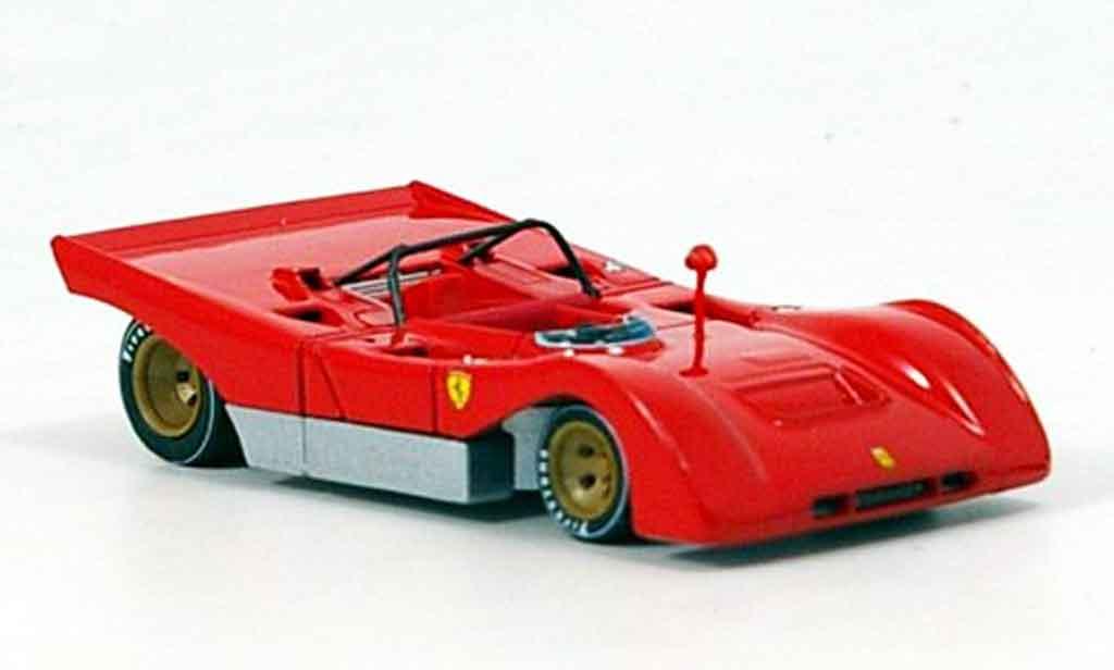 Ferrari 312 PB 1/43 Brumm rouge prougeotyp 1971 miniature