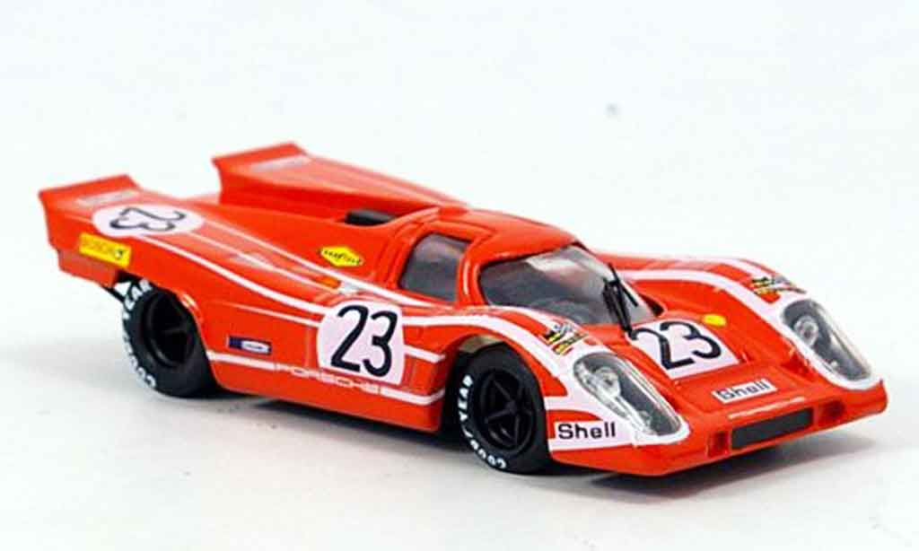 Porsche 917 1970 1/43 Brumm No.23 H. Herrmann Le Mans miniature