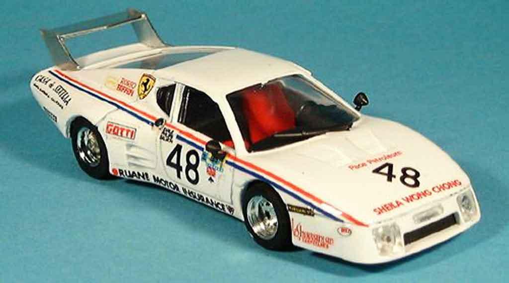 Ferrari 512 BB LM 1/43 Brumm no.48 scuderia rosso le mans 1981 diecast