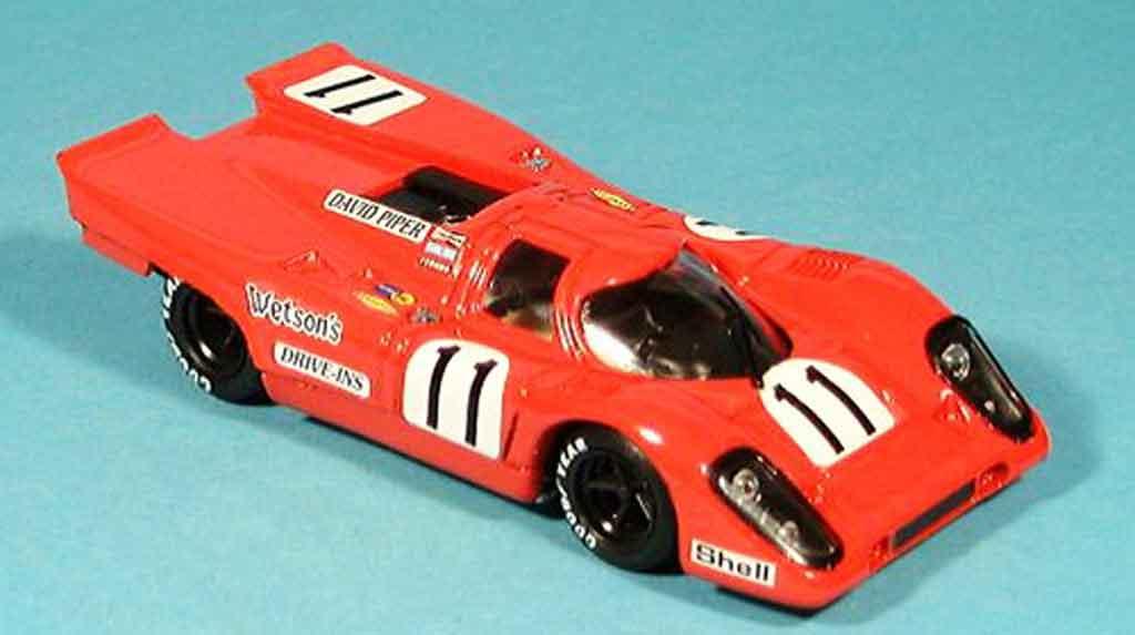 Porsche 917 1970 1/43 Brumm No.11 Piper Adamovicz 1000km Monza