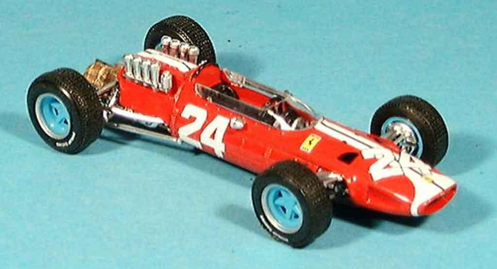 Ferrari 158 1965 1/43 Brumm no.24 bob bondurant gp usa miniature