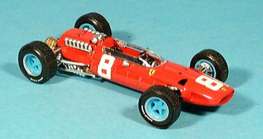 Ferrari 512 BB 1/43 Brumm no.8 john surtees gp italien 1965 miniature