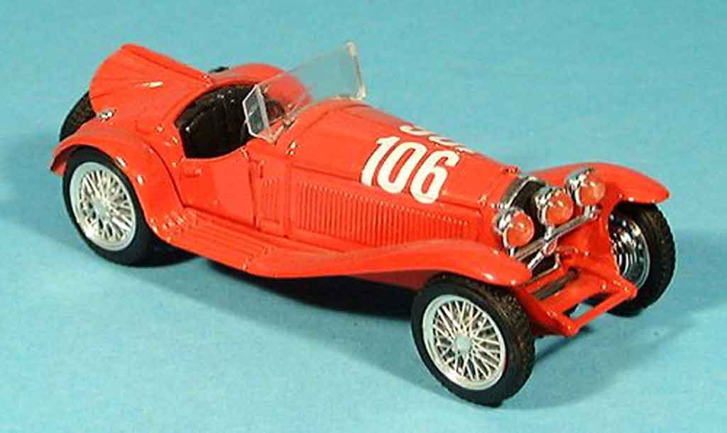 Alfa Romeo 2300 1/43 Brumm mille miglia no.106 rosso hp 142 1932 miniatura