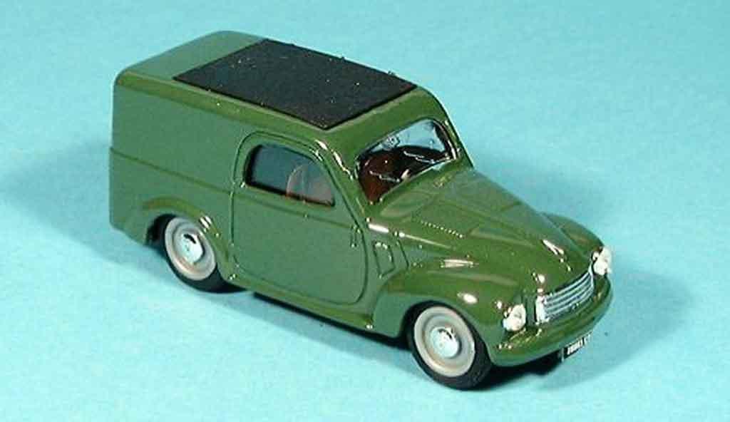 Fiat 500 1/43 Brumm C green Furgoncino 1949 diecast