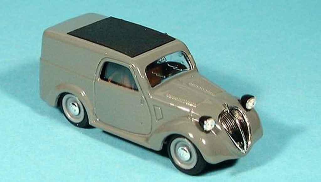 Fiat 500 1/43 Brumm B gray 1946 diecast
