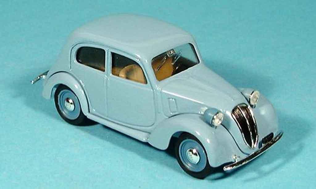 Fiat 1100 1/43 Brumm 508c HP32 bleu miniature