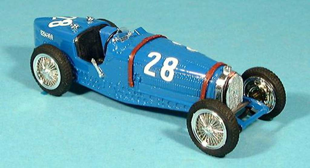 Bugatti Type 59 1/43 Brumm G.P. Monaco 1933 diecast