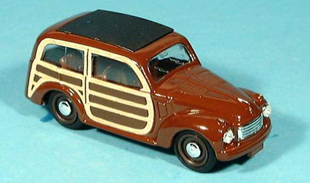 Fiat 500 1/43 Brumm C marron 1949 diecast model cars