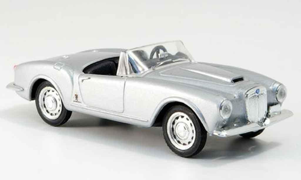 Lancia Aurelia B24 1/43 Brumm spider grise metallisee offen 1955 miniature
