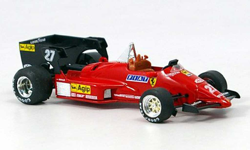 Ferrari 126 1984 1/43 Brumm C4 No.27 GP Belgien M.Alboreto miniature