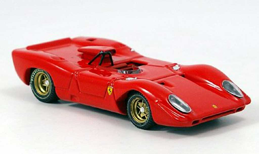 Ferrari 312 P 1/43 Best Spa rouge 1969 miniature