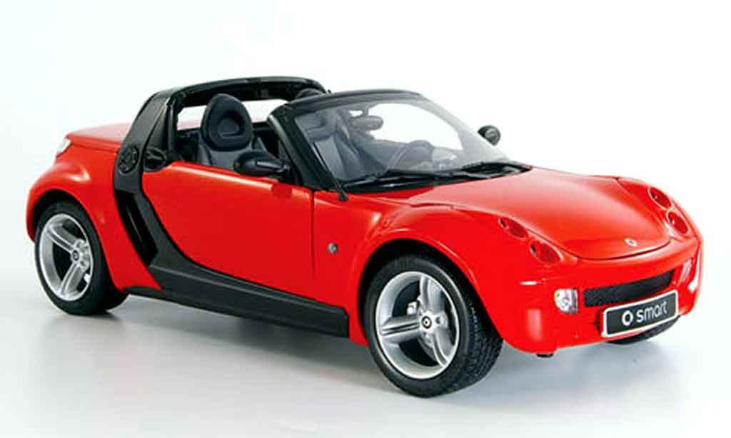Smart Roadster 1/18 Kyosho rouge 2003 miniature