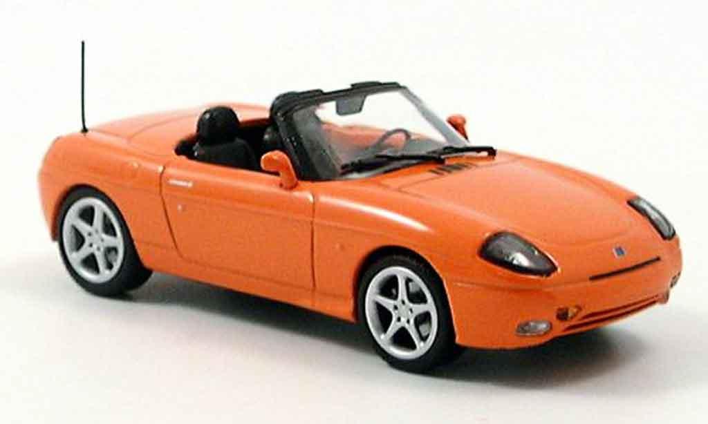 Fiat Barchetta 1/43 Minichamps orange