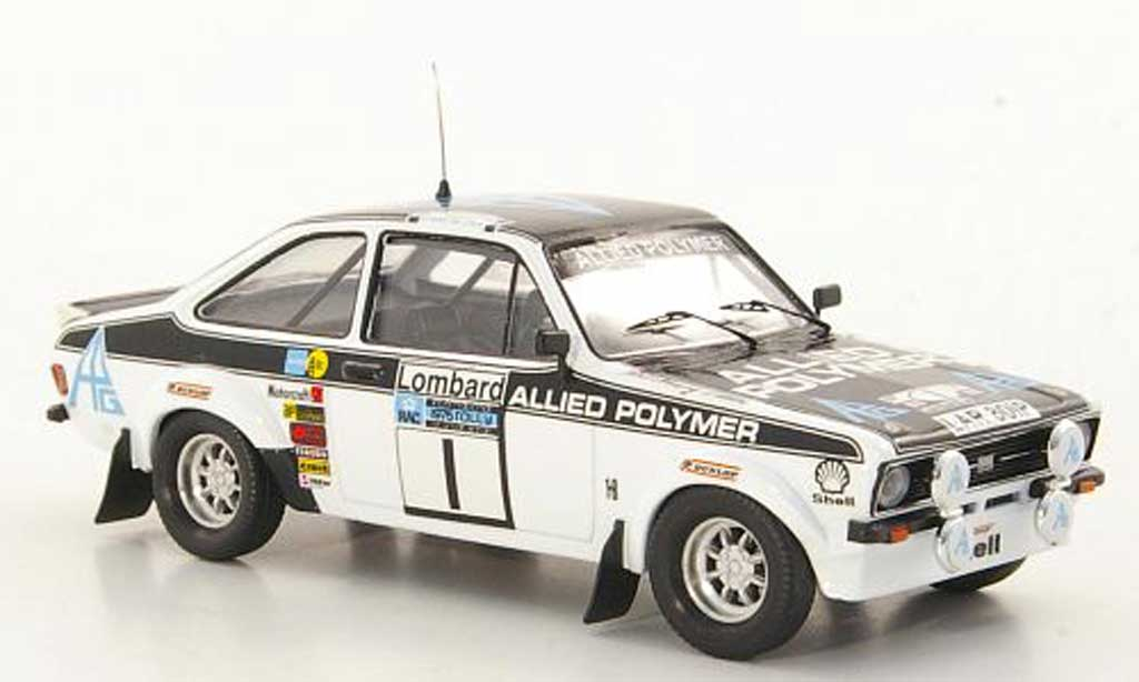Ford Escort RS 1800 1/43 Trofeu RS 1800 Allied Polymer T.Makinen / H.Liddon RAC Rally 1975 miniature