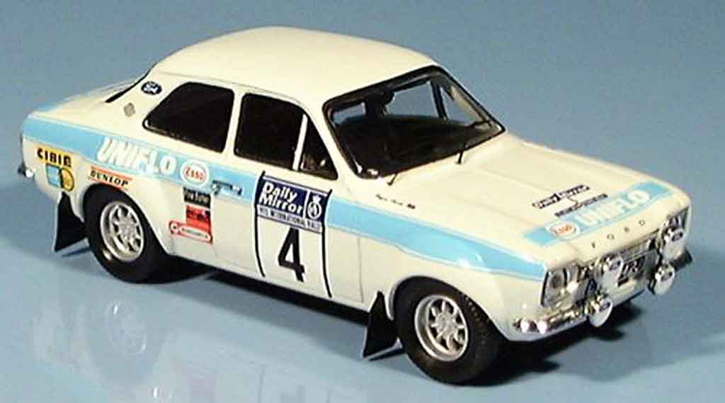 Ford Escort RS 1600 1/43 Trofeu Sieger RAC R.Clark 1972 diecast model cars