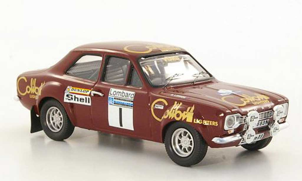 Ford Escort RS 1600 1/43 Trofeu No.1 T.Makinen / H.Liddon Lombard RAC Rally 1974 diecast model cars