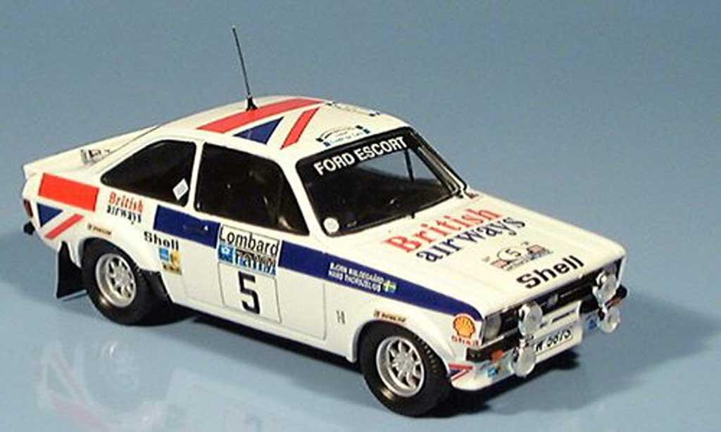 Ford Escort MK2 1/43 Trofeu RAC Rallye Waldegaard-Thorszelius 1977 miniature