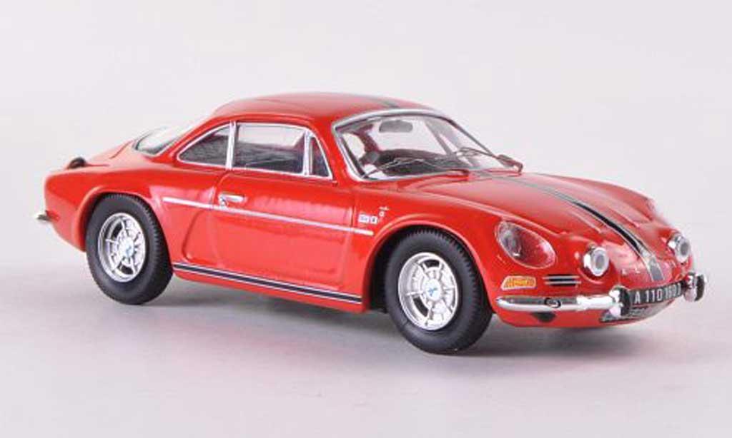 Alpine A110 1/43 Trofeu 1600 S rosso mit Streifen miniatura