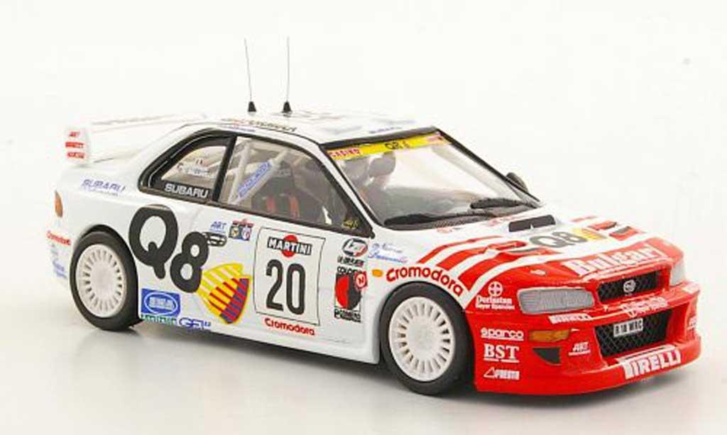 Subaru Impreza WRC 1/43 Trofeu No.20 A.Dallavilla / D.Fappani Rally San Remo 1998 modellino in miniatura