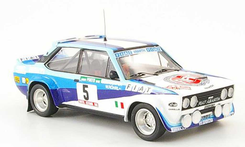Fiat 131 Abarth 1/43 Trofeu Sieger Portugal Rohrl-Geistdorfer 1980 diecast