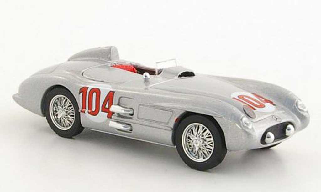 Mercedes 300 SLR 1/43 Brumm No.104 Moss / Collins Targa Florio 1955 miniature