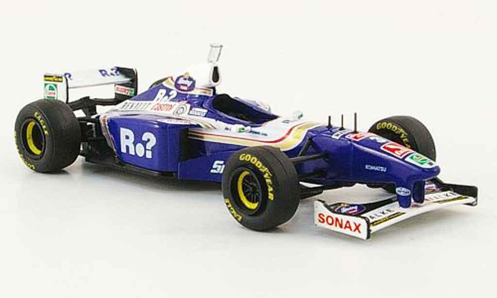 Renault F1 1/43 Onyx williams fw19 no.3 j.villeneuve gp england 1997 miniature