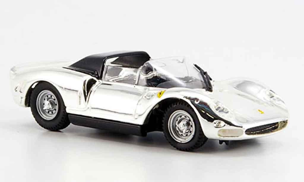 Ferrari 330 P2 1/43 Best echt vergrise metalliseet miniature