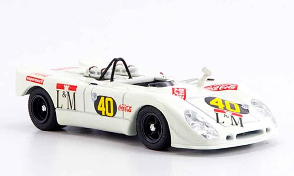 Porsche 908 1/43 Best Flunder Temporada Decadenet Pairetti miniature