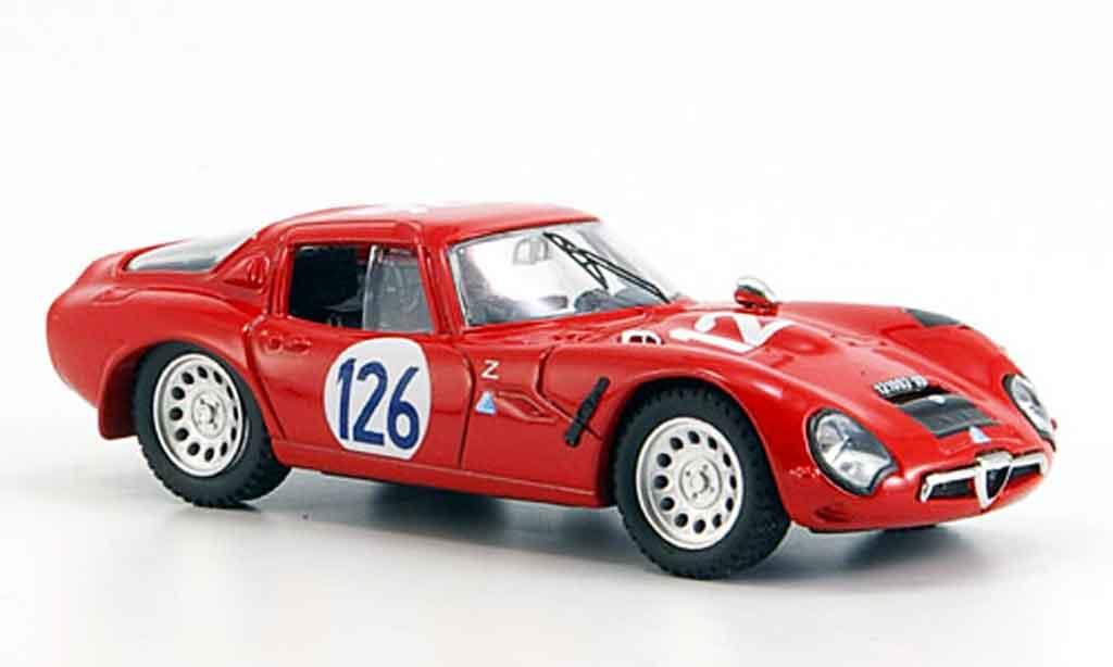 Alfa Romeo TZ2 1/43 Best no.126 pinto todaro targa florio 1966 miniature
