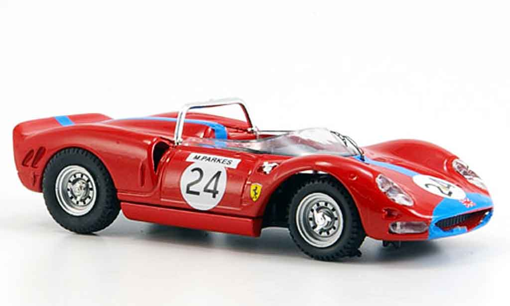 Ferrari 365 P2 1/43 Best brands hatch m.parkes 1965 miniature